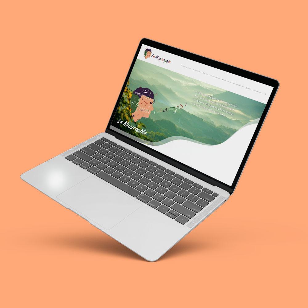 Site internet pour Musicopôle